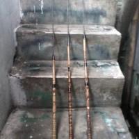 Joran pancing bambu cendani. (kolaman) Diskon