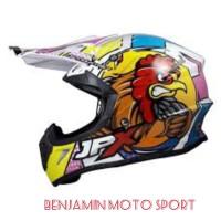 Helm croos JPX Motif 3