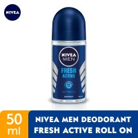 NIVEA MEN Deodorant Fresh Active Roll On 50ml