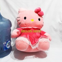 Boneka Hello Kitty Dress Pink Jumbo SNI