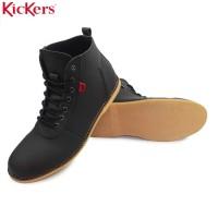 sepatu kickers brodo casual sneakers pria formal semi boots termurah