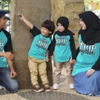 Baju Couple Baju Keluarga Baju Muslim Baju Anak Kaos Ziyata Sarimbit 3
