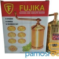 Cetakan Akar Kelapa Stainless / Fujika Cookies and Biscuits Maker