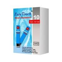 Easy Touch Kolesterol Cholesterol Test Strip Isi 10 Strip EASYTOUCH