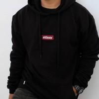 "Stussy Box Logo Hoodie Exclusive Australia Release Black"""