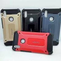Hardcase Vivo V9 V7 Y91 spigen iron carbon softcase