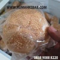 Roti Burger Wijen 1 Buah - Min 6 Buah Bun Burger Kirim By GRAB GO JEK