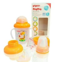Gelas Minum Anak Pigeon MagMag All In One / Training Cup / Botol Minum