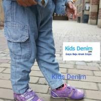 Celana Cargo Soft Jeans Anak HARGA KONVEKSI