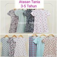 Baju 3-5 Thn Atasan Anak Perempuan Bahan Kaos - Harga Grosir Murah