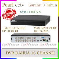 XVR CCTV DAHUA DVR 16 HANNEL 4116HS-X MAX INPUT 16 IPC GARANSI 3 TAHUN