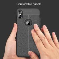 Auto Focus Leather Soft Case iPhone 5 5s SE 6 6s 7 8 Plus X XR XS Max