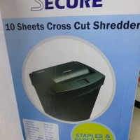 SECURE EzSC-10A /Mesin Penghancur Kertas