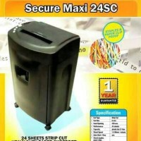 Mesin penghancur kertas Secure Maxi-24SC