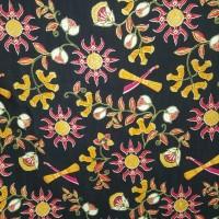 kain Batik Ambon Hitam motif