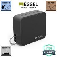 Eggel Fit Waterproof Outdoor Portable Bluetooth Speaker - Black