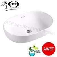 AER Washbasin/Wastafel CWB 01 C/CWB 01C Wastafel Minimalis atas meja