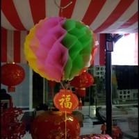 Promo On Sale Dijual Tenlung Imlek Naga Kecil Lampion Lipat 3D