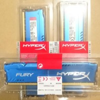 RAM KINGSTON HYPER X FURY GAMING LONGDIMM DDR3 8GB PC 12800 Promo