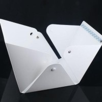 Mini Photo Studio Box Portable Lampu LED foto produk kotak lipat Promo