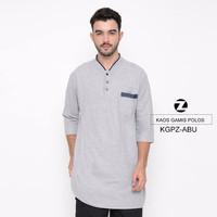 Zayidan Kaos Gamis Polos Abu Misty – Abu Muda, XL