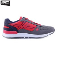 HRCN THE CHAMPION RED H 5111 Sepatu Kets Olahraga Sport Running Pria