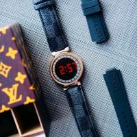 Jam Tangan Wanita Lxxis Vuitton Layar sentuh