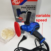 Mesin Poles Mobil ( variable speed ) ukuran 5 merk H&L - Polisher