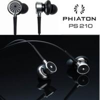 Original Phiaton PS 210 Unique Half In-Ear Earphones