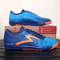 Sepatu futsal murah specs Swervo Dynamite in blue orange original