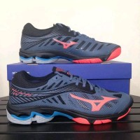 SEPATU VOLLY MIZUNO WAVE LIGHTNING Z4 BLUE MIRAGER ORIGINAL