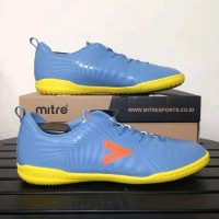 SEPATU FUTSAL MITRE OPTIMIZE IN DARK LEAD ORANGE
