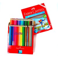 Faber Castell 48 WaterColour Pencil Watercolor Pensil Warna Cat Air