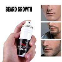 BEARD GROWTH SPRAY obat penumbuh jenggot kumis & brewok 100% NaturaL