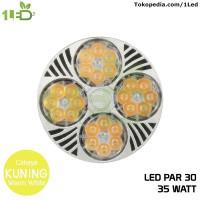 Lampu LED Spot PAR 30 35W E27 Kuning Warm White Spot Light Lampu Sorot