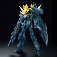 P.Bandai MG 1/100 Unicorn Gundam Banshee Norn Final Battle ver (green)