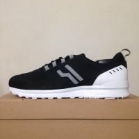 Sepatu Casual Piero City Plus Black White P20597 Original BNIB