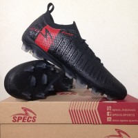 Sepatu Bola Specs Swervo Thunderbolt 19 FG Black Granite 100851 Ori