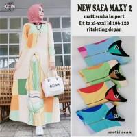 Dress maxy. Dress cantik terlaris. New safa maxy by Freya
