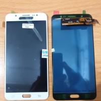 LCD 1SET SAMSUNG GALAXY J710 J7 2016 ORIGINAL KONTRAS WHITE PUTIH