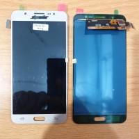 LCD 1SET SAMSUNG GALAXY J710 J7 2016 ORIGINAL KONTRAS GOLD kontras