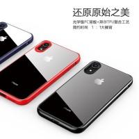 case casing iphone X XS XR XS MAX ultra hybrid transparan anti shock