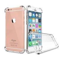 Anticrack shockproff jelly case iphone 7 7 plus 7+ anti crack