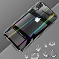 case iphone X XS XR XS MAX transparan soft case aurora case elegant