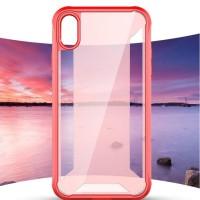 case casing iphone X XS XR XS MAX HARDCASE ANTI SHOCK TRANSPARAN