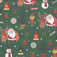 "Kertas Kado Sansan Wawa SW 5215 Christmas/Natal"""