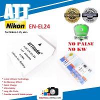 ATT Battery Nikon EN-EL24 Baterai Batere for Nikon 1 J5, etc..