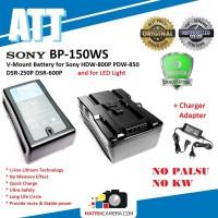 ATT Battery V-Mount Batere BP-150WS for SONY Camera & LED Light