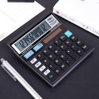 DELI - W39231B / Kalkulator Kantor 12 Digit / Peralatan Kantor Murah