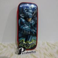 Kotal Wadah Tempat Pensil Anak 3D Timbul Karakter Supe Hero BATMAN